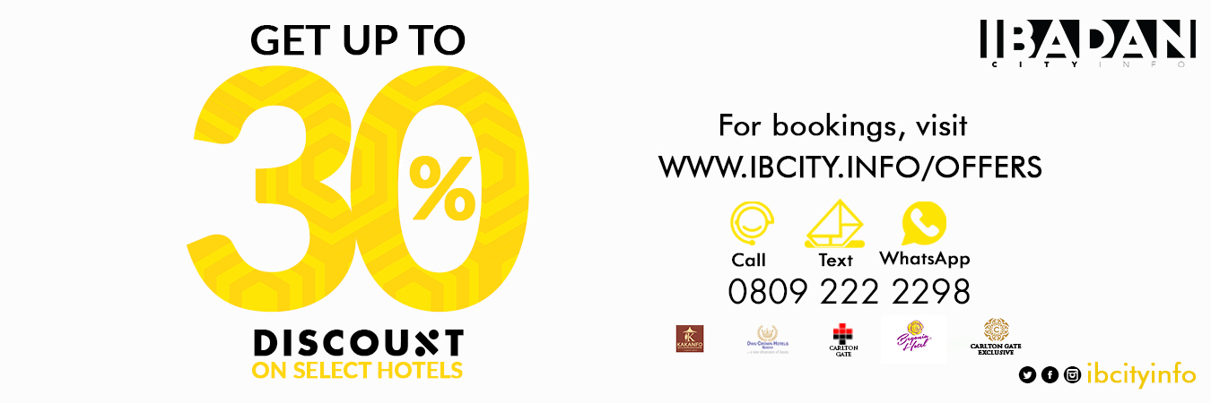 30% Discount on Hotels!